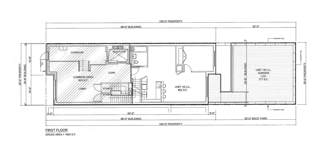 Apartment# 1B - Upper Level
