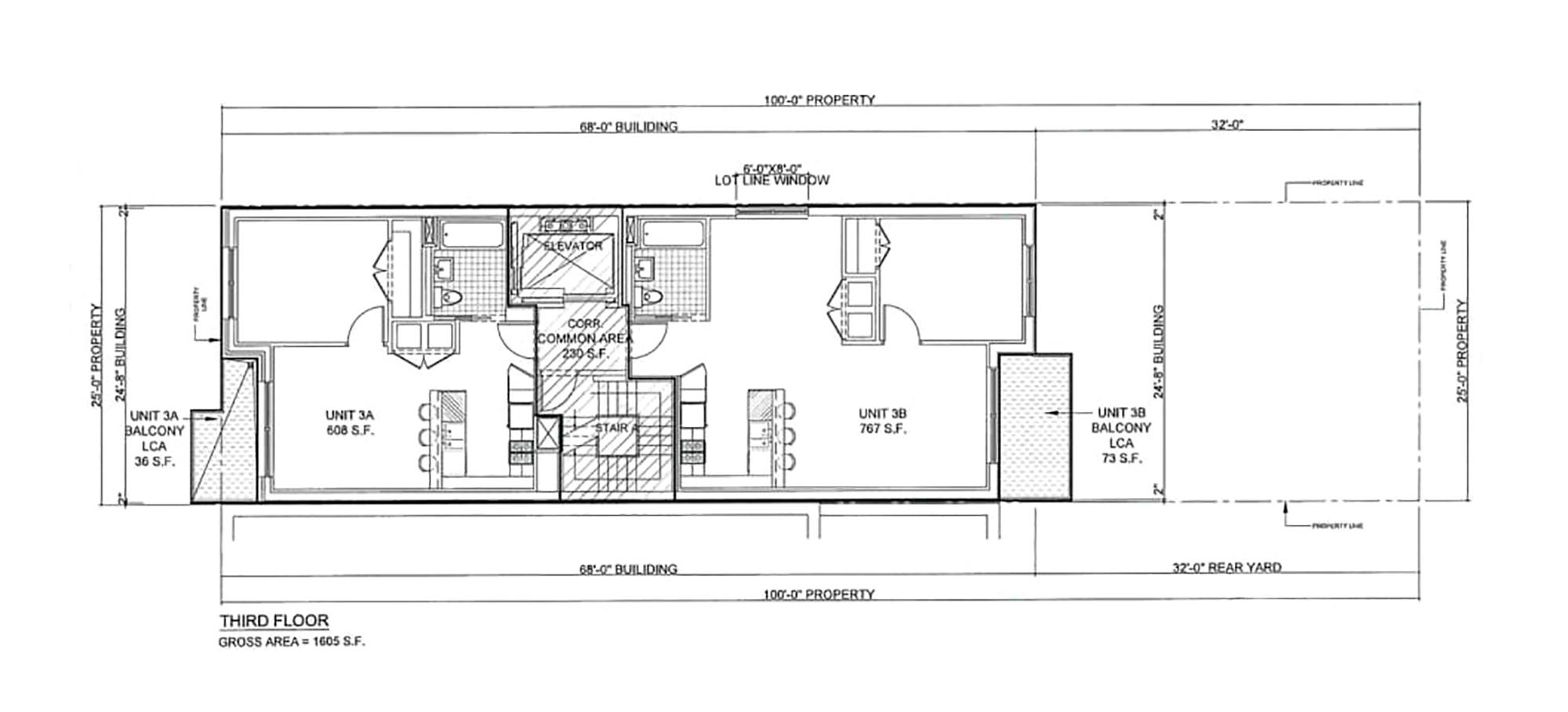 Floor plan - 3rd FL