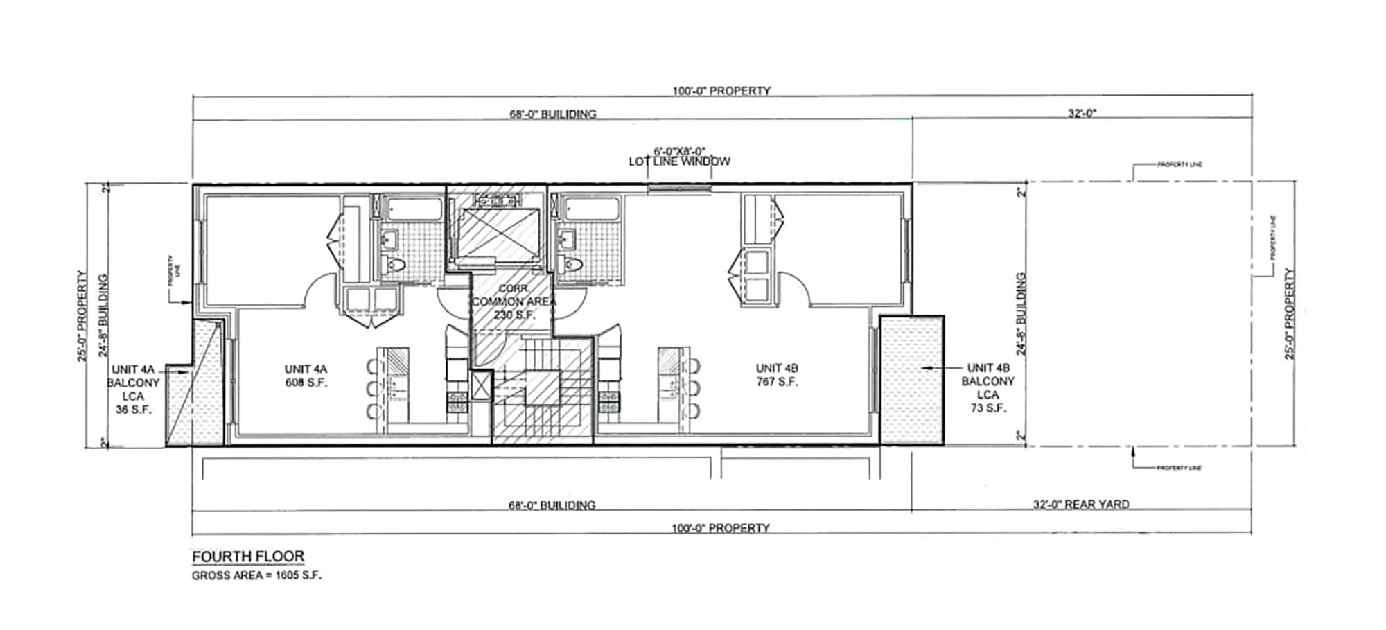 Floor Plan - 4th Floor